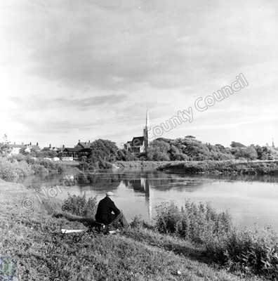 Fishing, River Ouse, Newton-on-Ouse